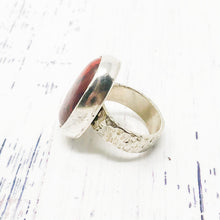 Load image into Gallery viewer, Red Jasper Ring size 7.5