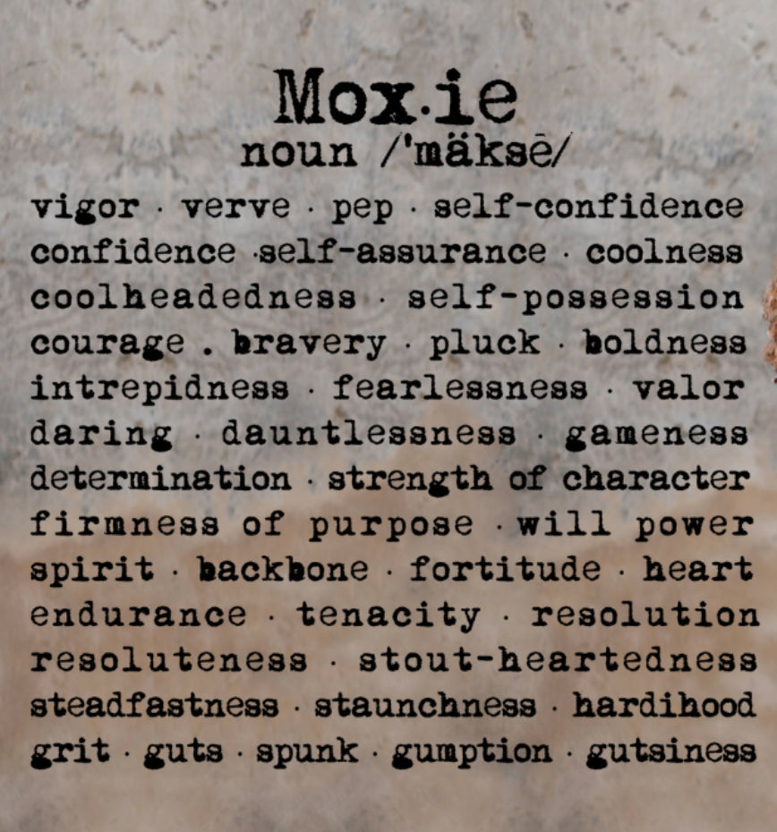 The Power and Meaning of Words; Girl Power and Moxie Relevance
