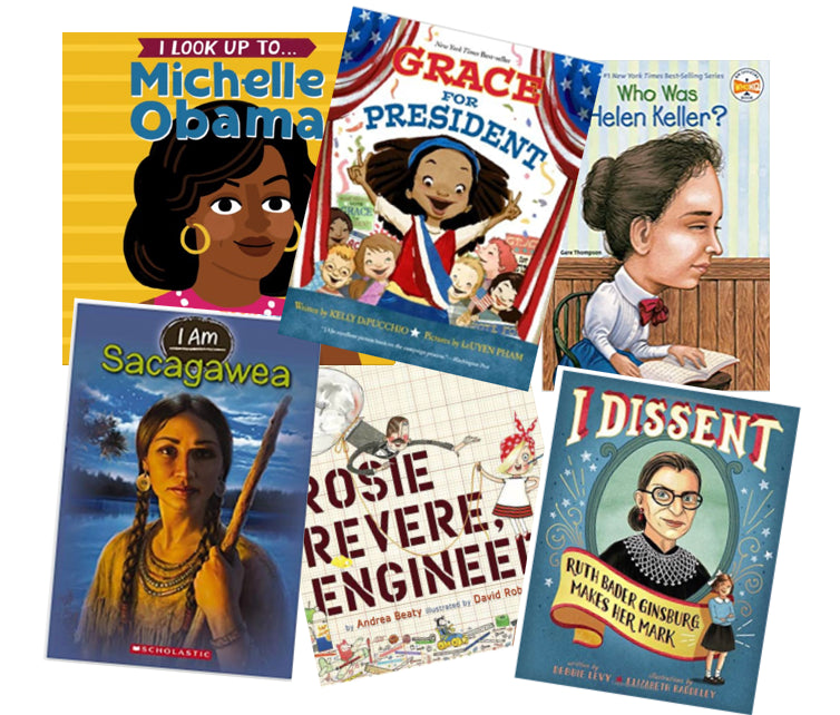 Positive Feminist Book Recommendations For Children