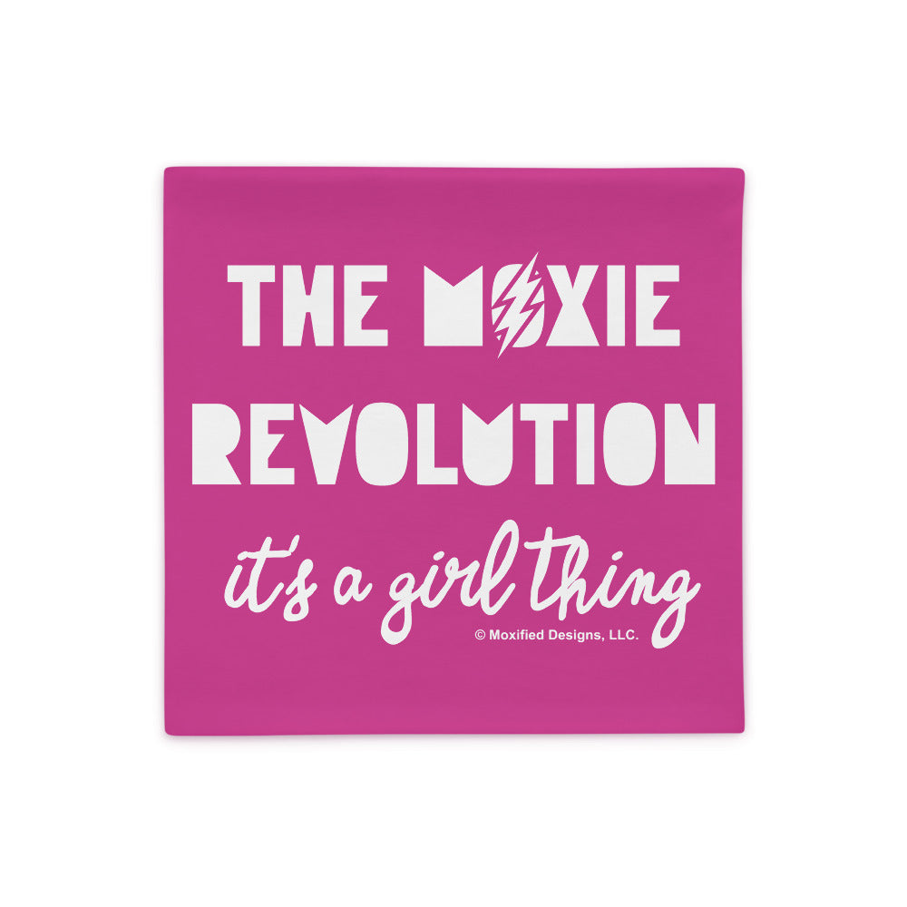 Moxie Revolution Pillowcase (Hot Pink)