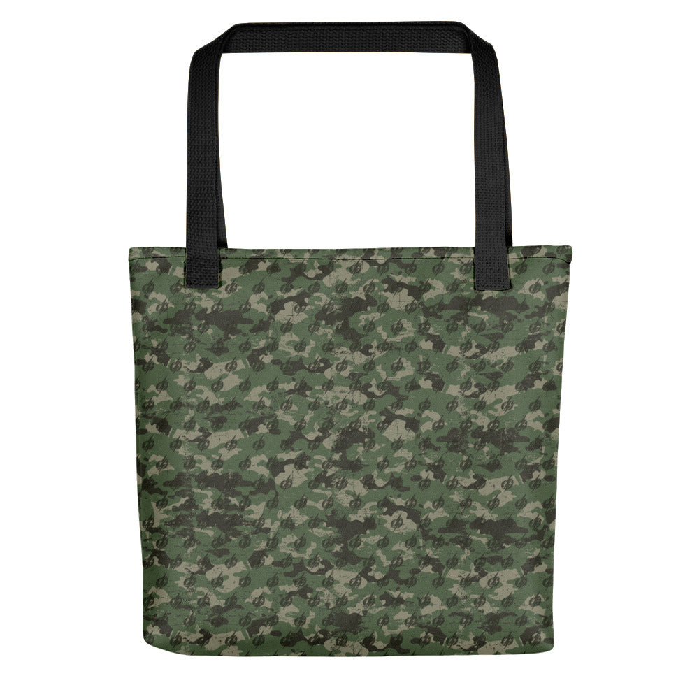 Camo Power Bolt Tote bag (Black/Green)