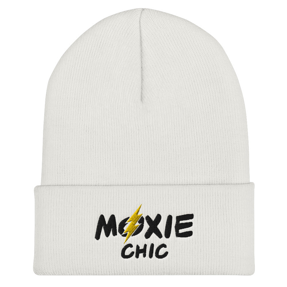 Cuffed Beanie - Black/Yellow Logo