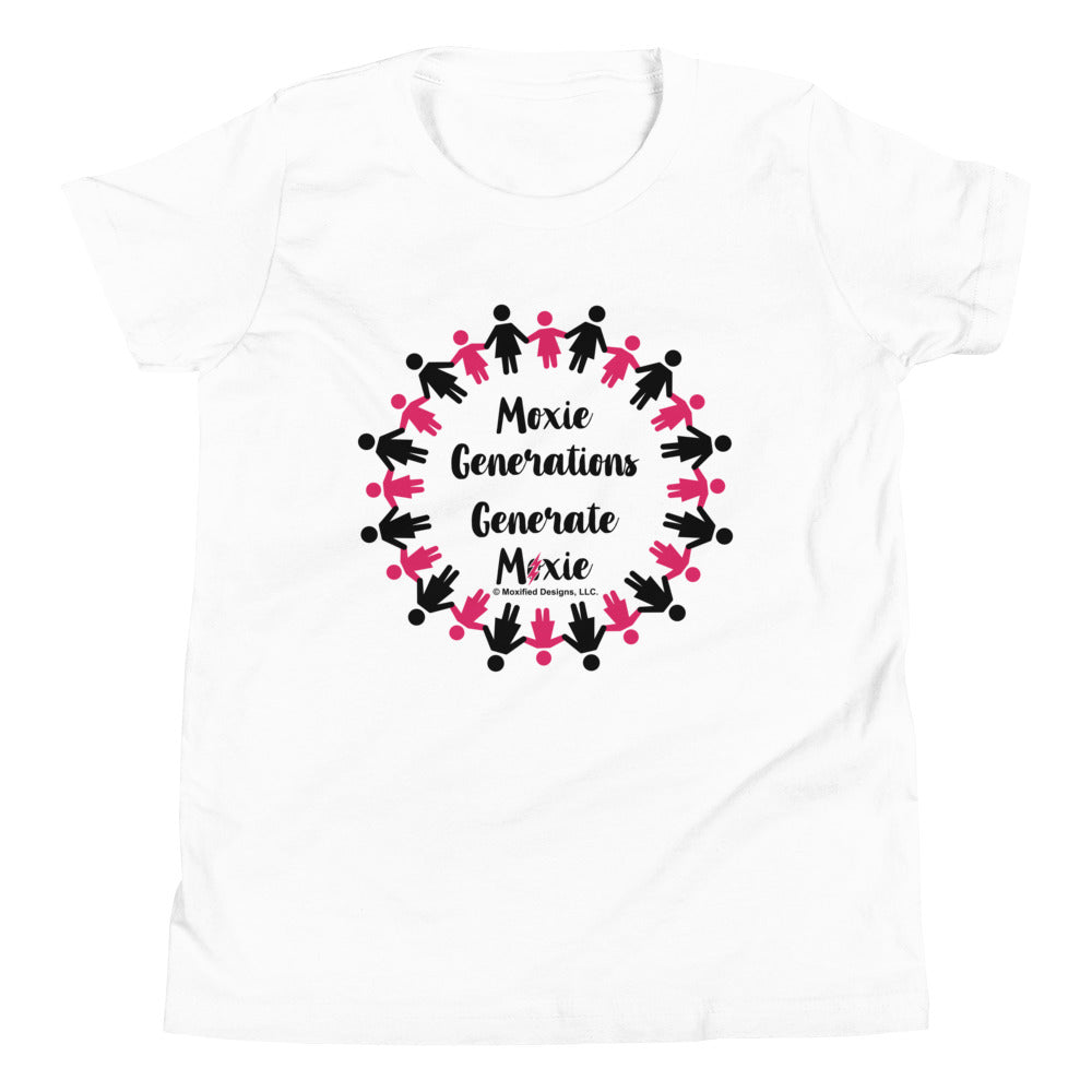 Generations Standard Youth Tee (Pink/Black Design)