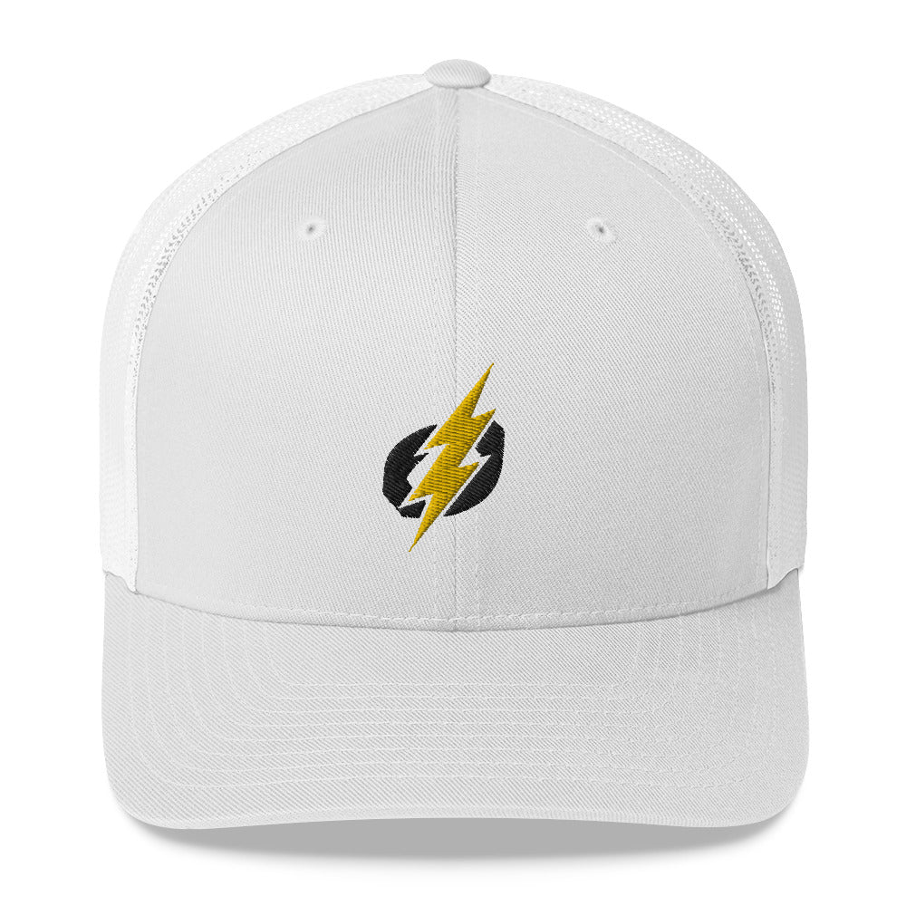 Trucker Cap - Black/Yellow Bolt