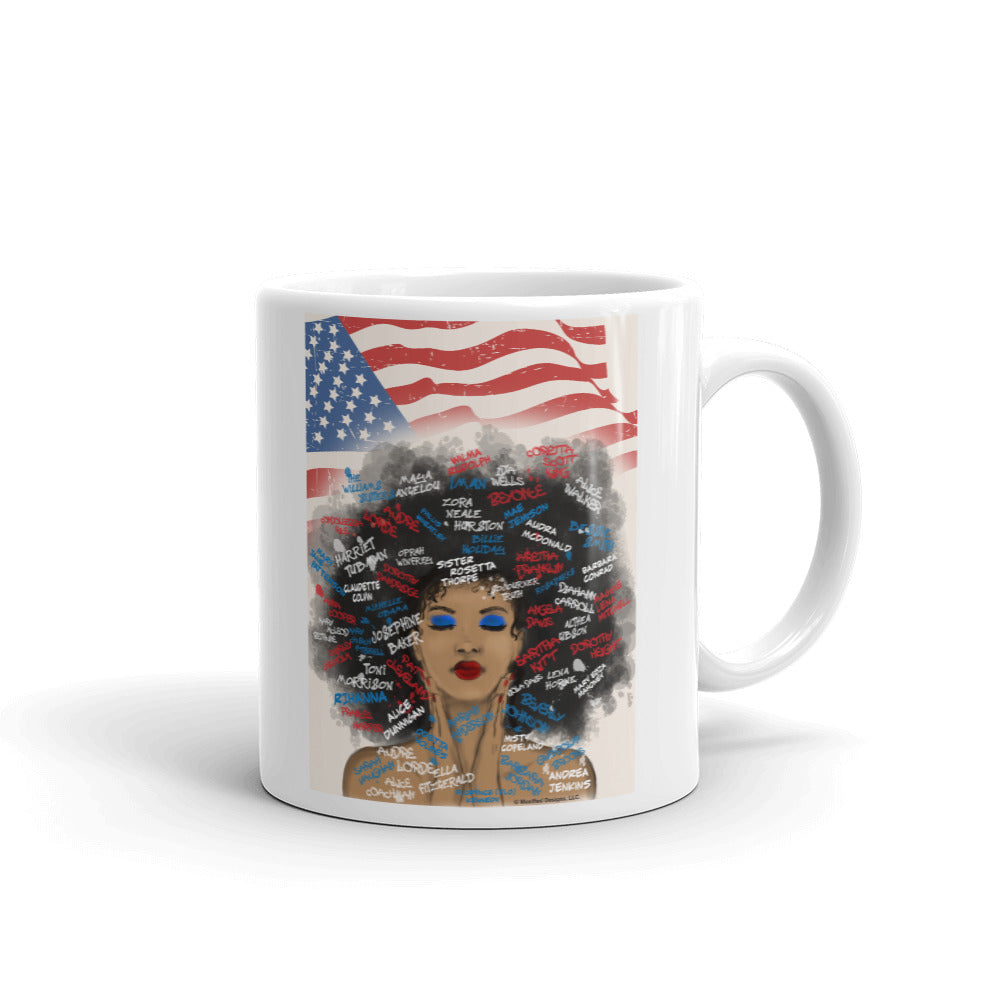 Juneteenth Mug (Red/White/Blue)