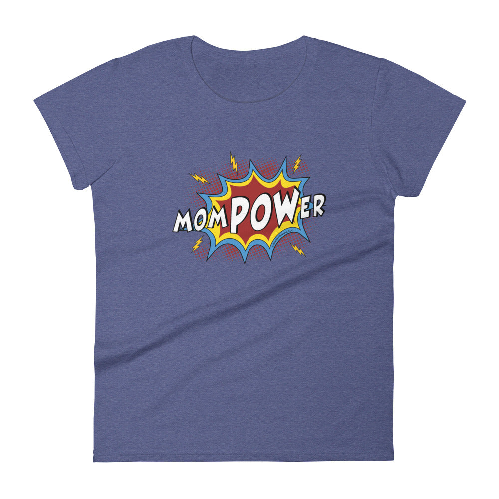 MomPOWer Women's Semi-Fitted Tee (Multi Design)