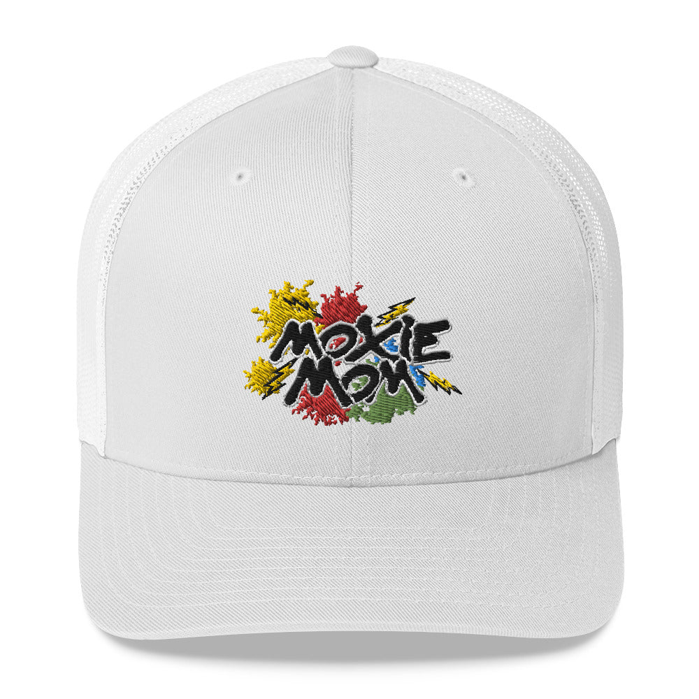 Graffiti Moxie Mom Trucker Cap I (Multi Design)