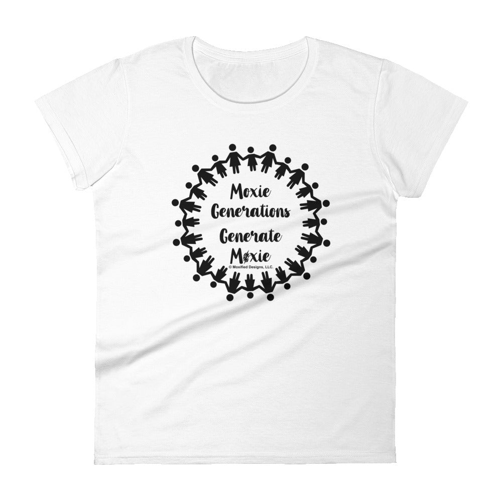 Generations Women's Semi-Fitted Tee (Multi Text)