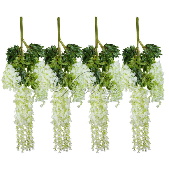 12pcs/lot 105cm Artificial Flower Hanging Plant