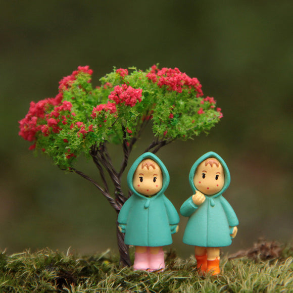 3pcs/lot Studio Ghibli Toy My Neighbor Totoro Raincoat