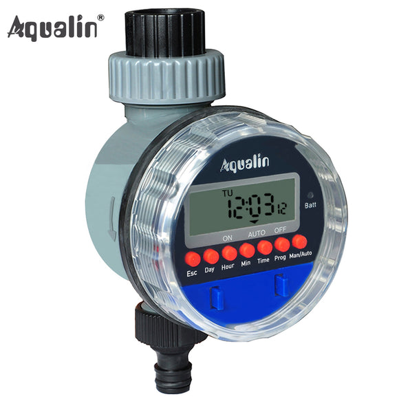 Automatic  Electronic LCD Display Home  Ball Valve