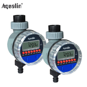 2pcs  Electronic LCD Display Home  Water Timer