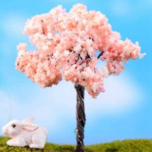 Home Decoration Accessories Plastic Crafts Kawaii Trees