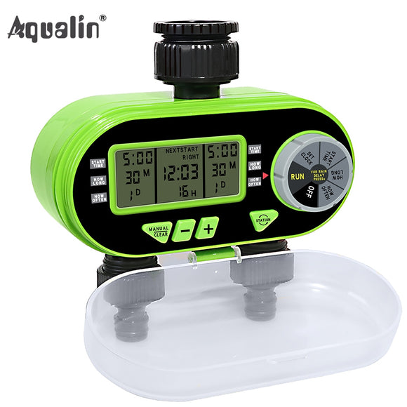 New Arrival Two Outlet Garden Digital Electronic Water Timer