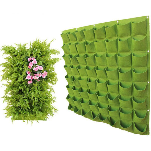 Wall Hanging Planting Bags Garden Vertical Planter