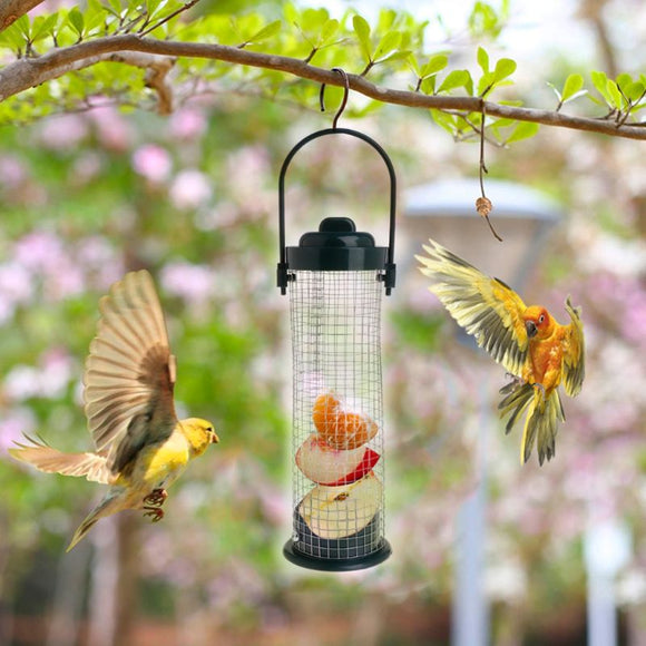 Bird Feeder Outdoor Hanging Mesh Feeding