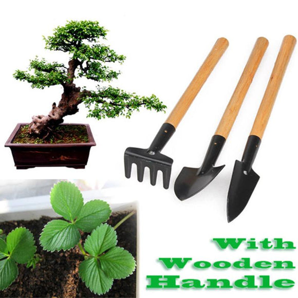 3pcs Mini Garden Plant Tool Set
