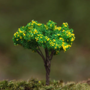 Groceries Creative False Tree Yellow Flowers