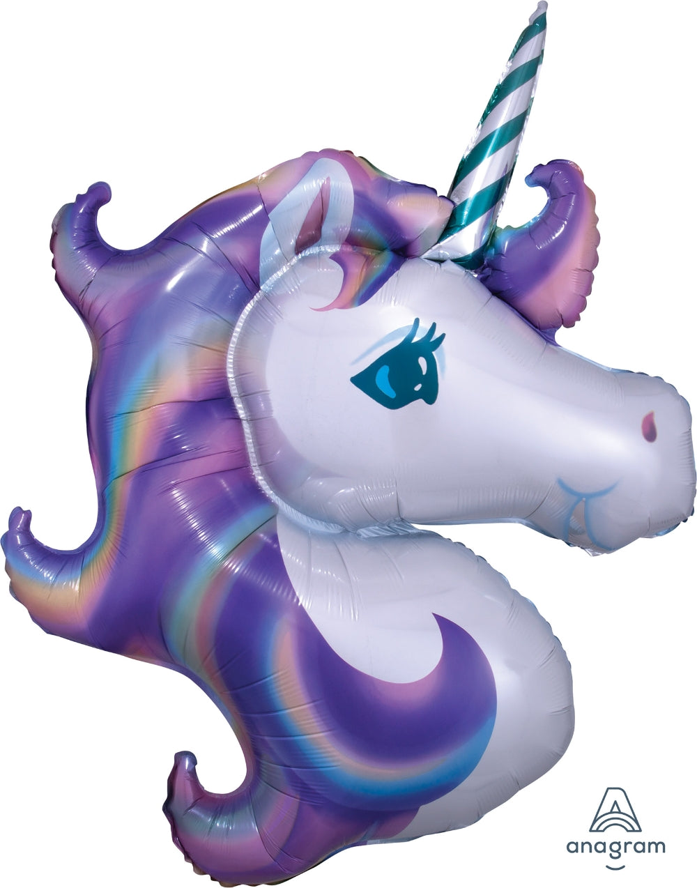 Pastel Unicorn Supershape Balloon