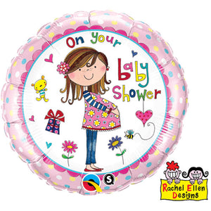 On Your Baby Shower Balloon
