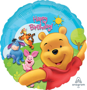 Pooh And Friends Sunny Birthday Balloon