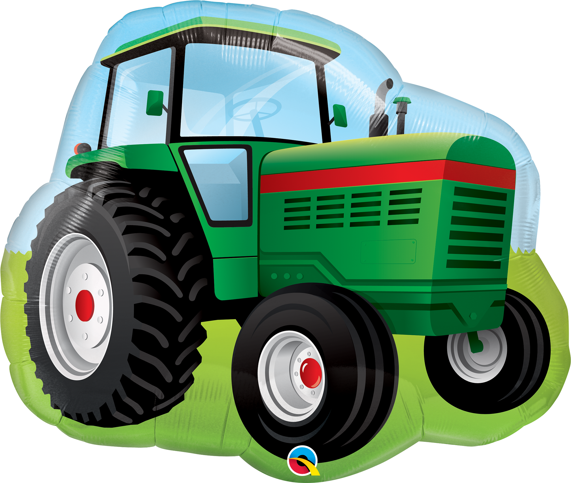 Farm Tractor Supershape Balloon