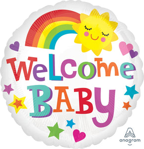 Welcome Baby Cute Icons Balloon