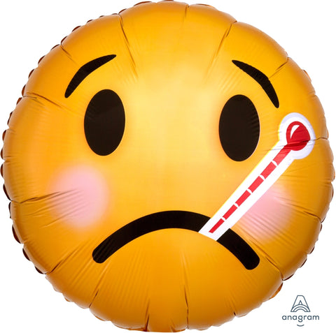 Emoji Get Well Soon Balloon