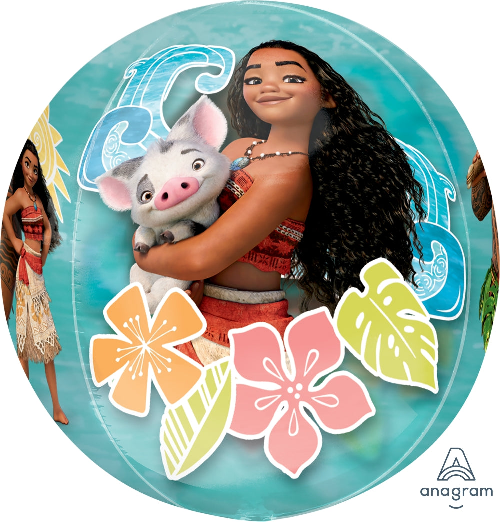 Moana Clear Orbz Balloon