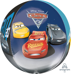 Cars 3 Orbz Foil Balloon