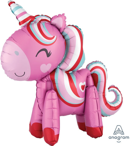 Unicorn Magical Standing Air-Filled Balloon