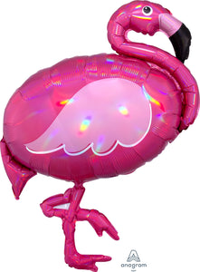 Pink Flamingo Supershape Balloon