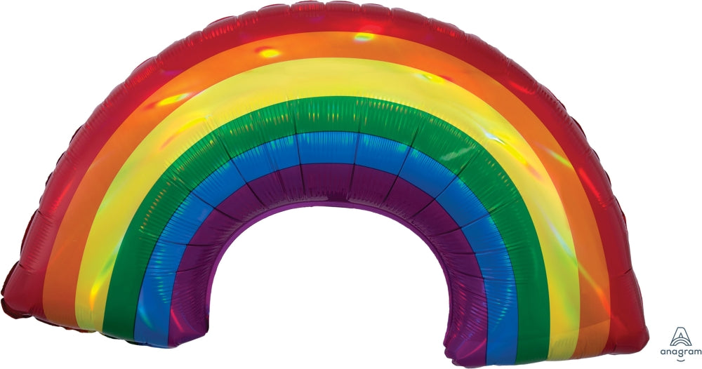 Iridescent Rainbow Supershape Balloon
