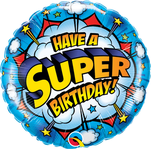 Have a Super Birthday Balloon