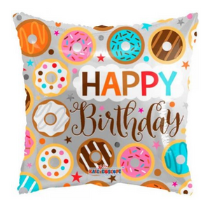 Happy Birthday Donuts Balloon