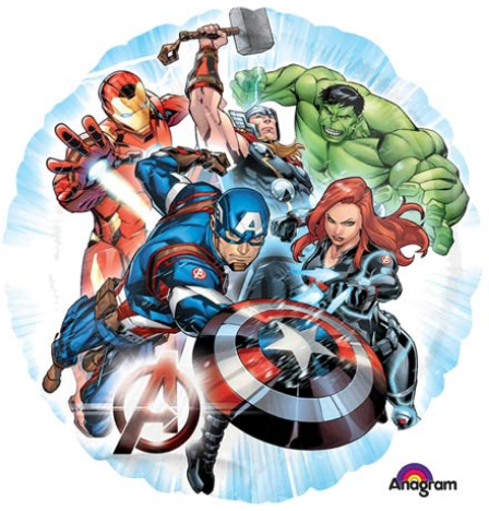 Avengers Group Balloon