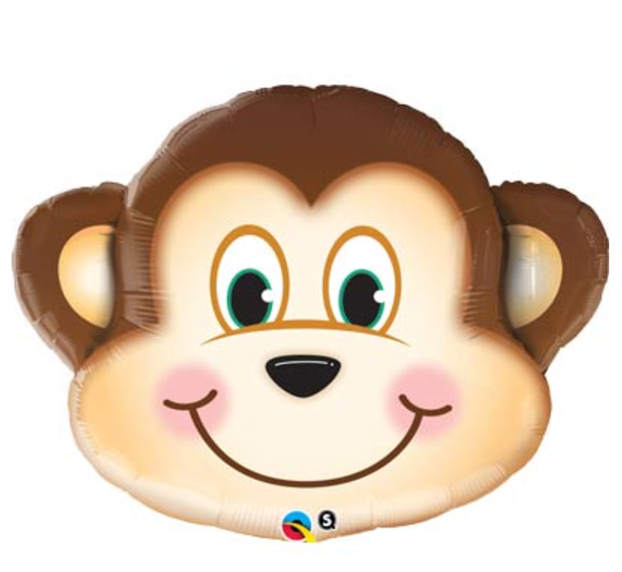 Mischievous Monkey Shape Balloon