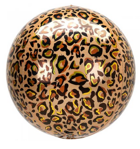 Leopard Printed Orbz Balloon