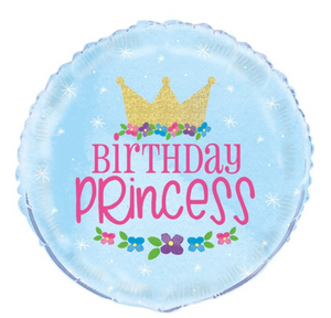 Magical Birthday Princess Balloon