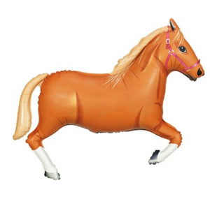 Light Brown Horse Shape Balloon