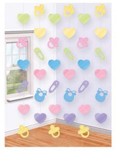 Baby Shower Backdrop Curtain