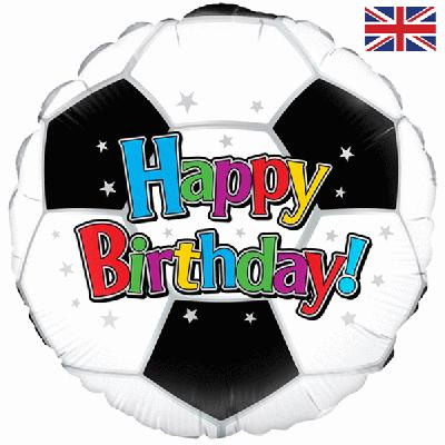 Football Birthday Balloon