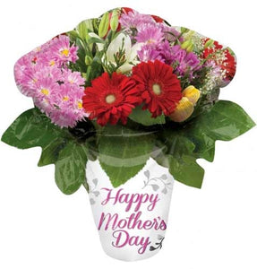 Happy Mothers Day Bouquet Supershape