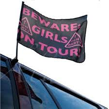 Girls Nigh Out Car Flag