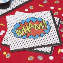 Ginger Ray - Super Hero Napkins