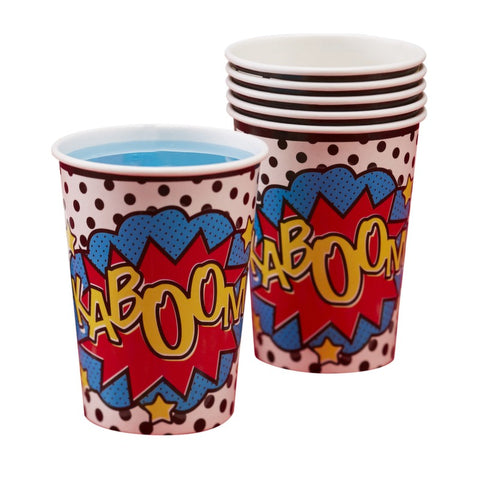 Ginger Ray - Super Hero Cups