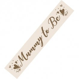 Mummy to Be Sash
