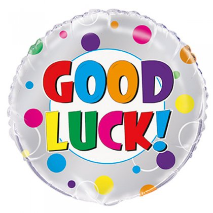 Colourful Good Luck Balloon