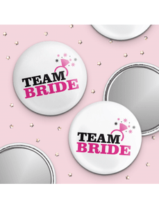 Hen Night Mirror Badge