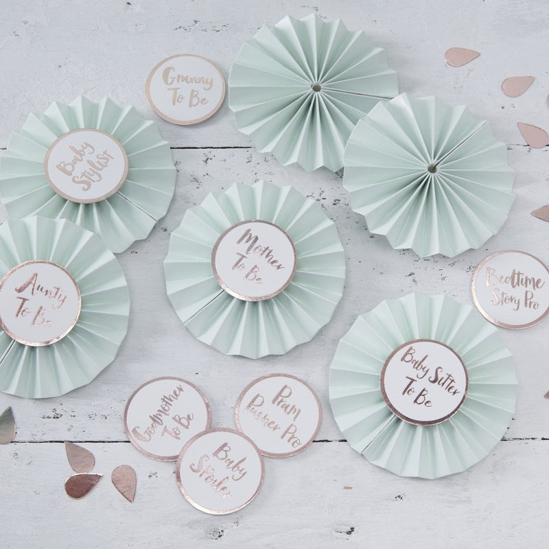Baby Shower Badges Kit